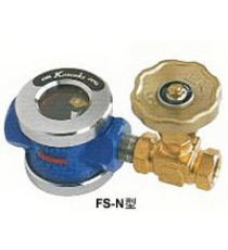 FS-C / FS-N flow sight type with needle valve